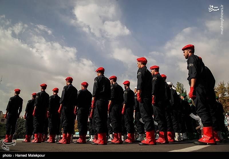 مانور بادیگاردهای نیروی انتظامی