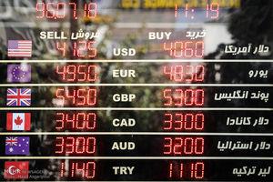نرخ ارزها در بازار
