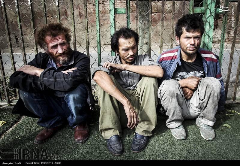 طرح برخورد با معتادان متجاهر و قاچاقچیان مواد مخدر