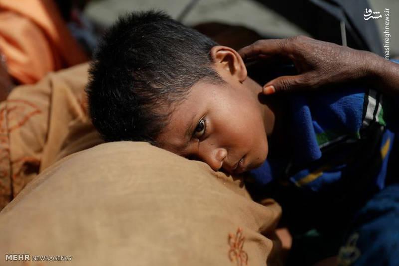 چهره های رنج دیده مسلمانان میانمار