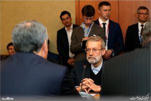 دیدار دکتر علی لاریجانی با رئیس دومای دولتی روسیه