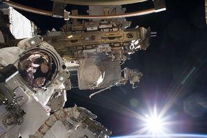 عکس/ طلوع خورشید از نگاه یک فضانورد