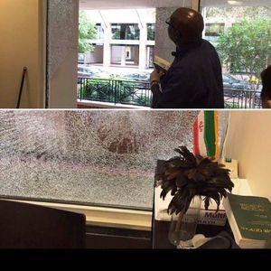 تعرض به دفتر حافظ منافع ايران در واشنگتن