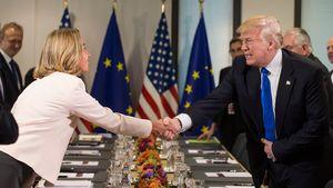 وابستگی تجاری اروپا به آمریکا ۶۸ برابر ایران است/ انتخاب اروپا منافع برجام خواهد بود یا تجارت با آمریکا؟+ جدول