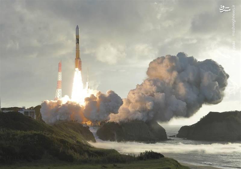 پرتاب موشک ماهوارهبر ژاپنی با نام H-2A از پایگاه تانگاشیما