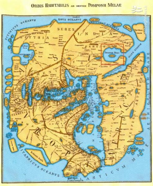 نقشه های قدیمی از خلیج همیشگی فارس