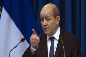 وزیر خارجه فرانسه نیامده ایران را تهدید کرد!