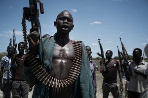 عکس/ شورشیان سودان جنوبی