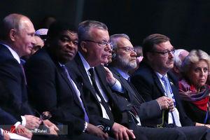 عکس/ حضور لاریجانی در اجلاس IPU در روسیه
