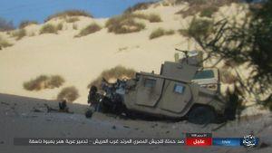 غافلگیری داعش در مصر +عکس