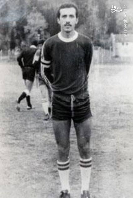 عکس ورزشی رجب طیب اردوغان در مدرسه پیاده نظام ارتش در استانبول سال 1982