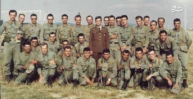 رجب طیب اردوغان در مدرسه پیاده نظام ارتش در استانبول سال 1982