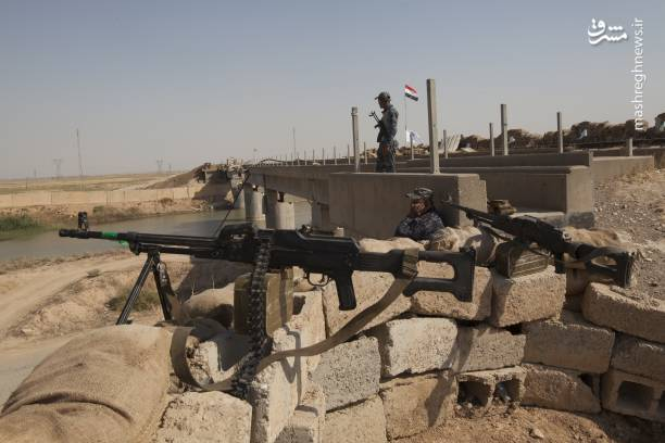 عکس/ آماده باش جنگی در کرکوک