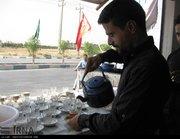 آماده سازی مواکب حسینی در مرز شلمچه