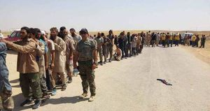 بارزانی داعشیها را به جان ارتش عراق انداخت