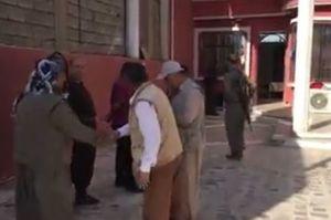 فیلم/ حضور تروریستهای پ.ک.ک در کرکوک