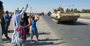ورود نظامیان عراقی به کرکوک