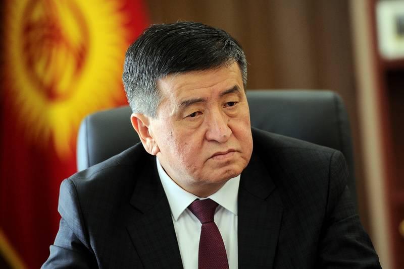 «جن بیکاف» رئیس جمهور منتخب قرقیزستان شد +عکس