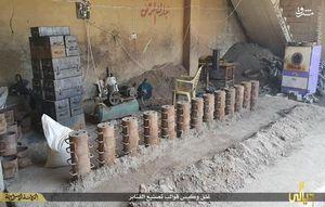 کشف کارگاه ساخت بمب در کرکوک +عکس