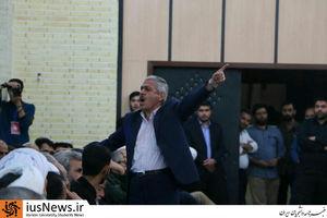 اقدام تاملبرانگیز یک نماینده مجلس در حضور خانواده شهید حججی +تصاویر ,