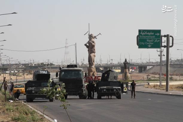 کرکوک پس از ورود نیروهای نظامی