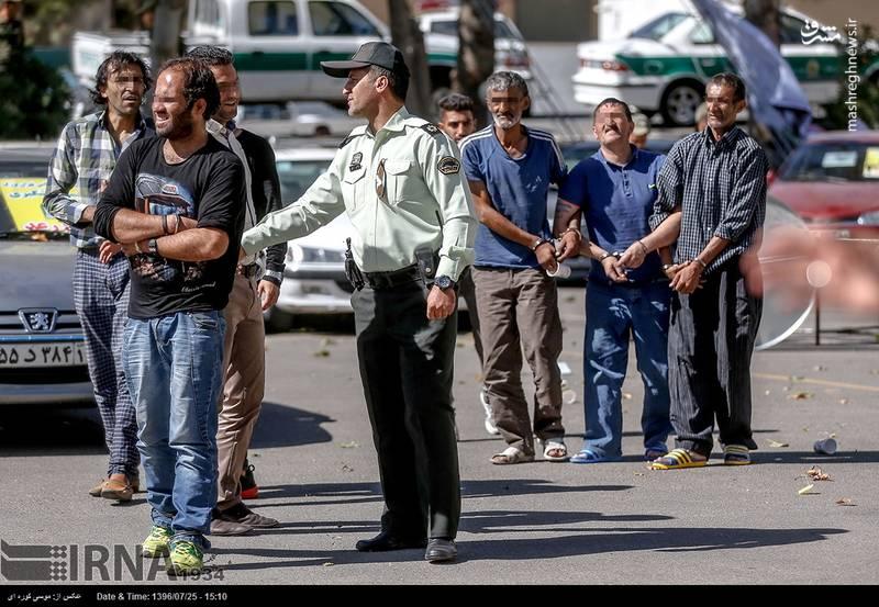 اسلحه زورگیران تهرانی