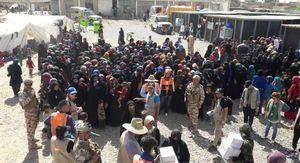 بارزانی مردم شمال عراق را آواره کرد +عکس