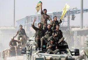 عکس/ تصرف پایتخت داعش بهدست کردهای سوریه