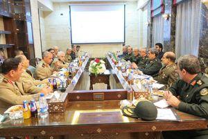 نشست فرماندهان پلندپایه نظامی ایران و سوریه