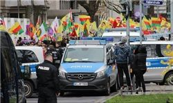 تجمع هواداران پ.ک.ک در آلمان