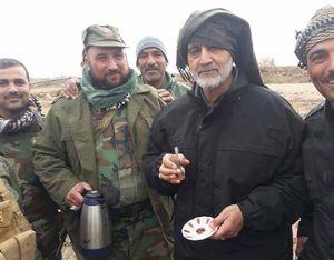 حاج قاسم - چای در عراق