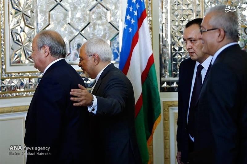 2083267 - عکس/ دیدار وزیر امور خارجه ازبکستان با ظریف