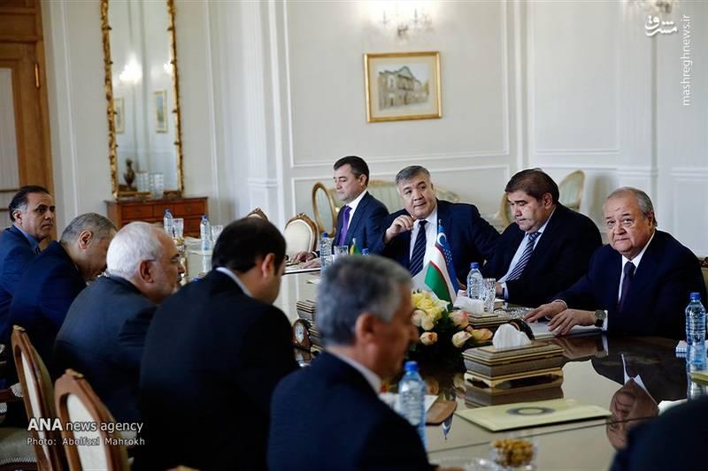 2083270 - عکس/ دیدار وزیر امور خارجه ازبکستان با ظریف