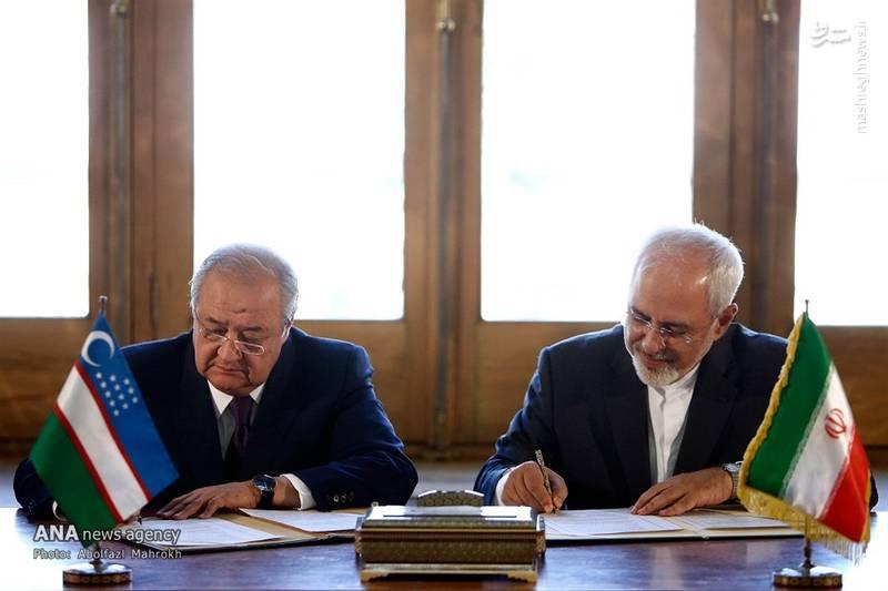 2083271 - عکس/ دیدار وزیر امور خارجه ازبکستان با ظریف