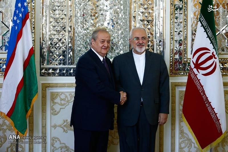 2083273 - عکس/ دیدار وزیر امور خارجه ازبکستان با ظریف