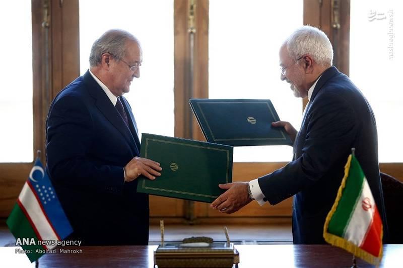 2083274 - عکس/ دیدار وزیر امور خارجه ازبکستان با ظریف