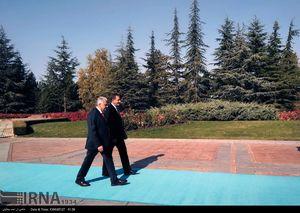 استقبال از جهانگیری در کاخ چانکایا ترکیه