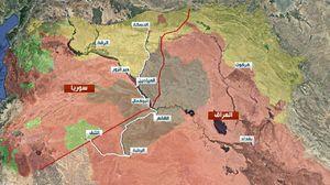 عکس/ آخرین وضعیت میدانی داعش در عراق و سوریه