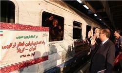 خط آهن کربلا تهران
