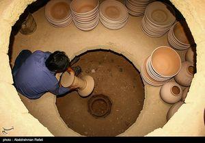 عکس/ کارگاه ساخت سفال همدان