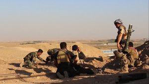 عکس/ استفاده نیروهای بارزانی از تسلیحات اهدایی غرب