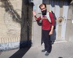 عکس/ این مرد 18 بار پیاده به کربلا رفته است