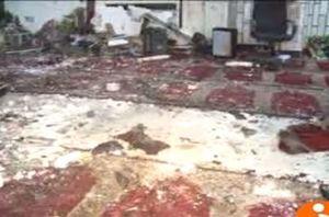 فیلم/ انفجار انتحاری در مسجد امام زمان(عج) کابل