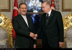عکس/ دیدار جهانگیری و اردوغان