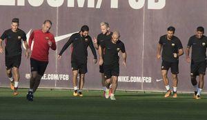 احتمال حذف بارسلونا در مرحله گروهی لیگ قهرمانان اروپا