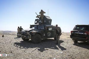 تسلط نیروهای عراقی بر گذرگاه الربیعه