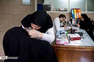 ایستگاه جهادی زندگی خوب در منطقه دولتخواه تهران