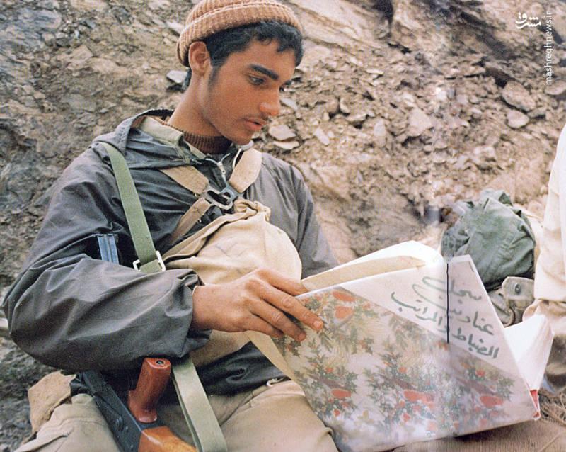 رزمنده - جبهه - جنگ تحمیلی