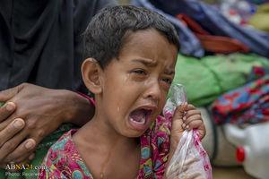 اوضاع بد کودکان روهینگیایی در بنگلادش