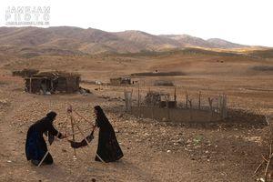 فیلم/ روزه داری عشایر در گرمای سیستانوبلوچستان